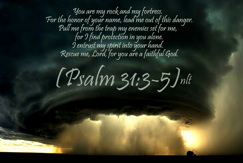 Psalm 31:3-5 nlt | 07-28-13 Today's Bible Scripture  | Bob Smerecki