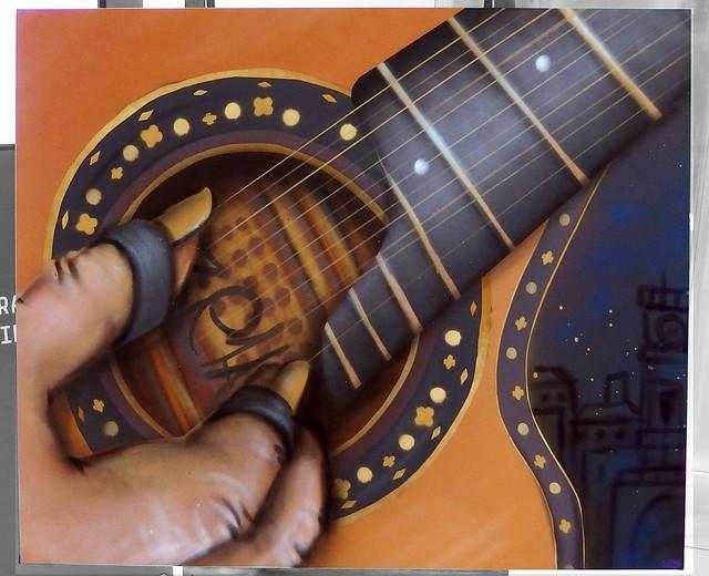Guitarra trinar