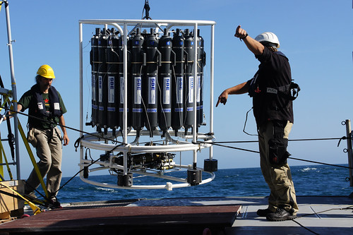 Raising the CTD | by Ocean Networks Canada