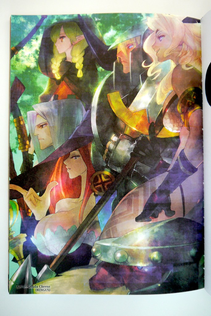 Dragon S Crown Artworks The Party Concept Art From Gouda