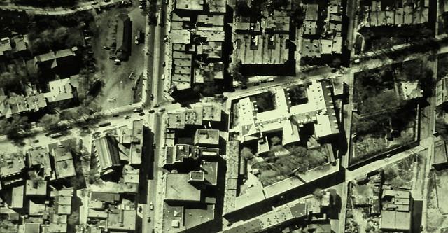 Montréal 1947. Quartier Latin: secteur Saint-Laurent / Sherbrooke.