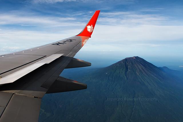 Peak of Mount Agung