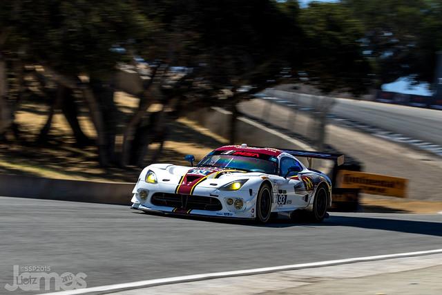 2015 Monterey Grand Prix Laguna Seca - GT Daytona - #93 Riley Motorsport Dodge Viper SRT 2