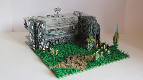 Lego Star Wars Moc on Felucia