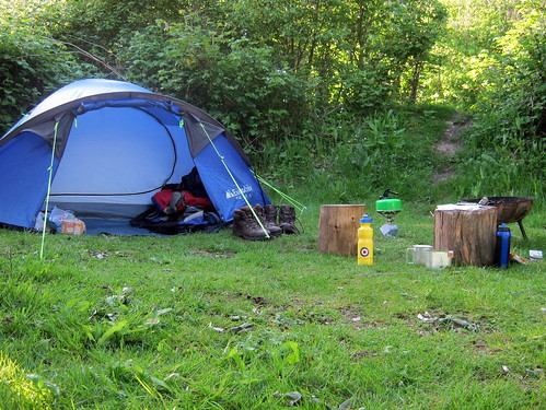 Camping at The Sustainability Centre on the South Downs Way | by bradbox
