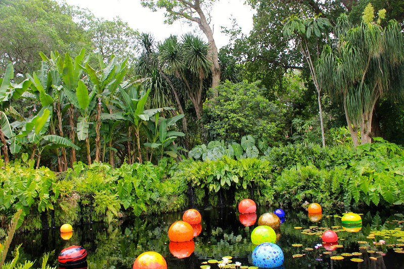 Orbs by Dale Chihuly, Fairchild Tropical Botanic Garden