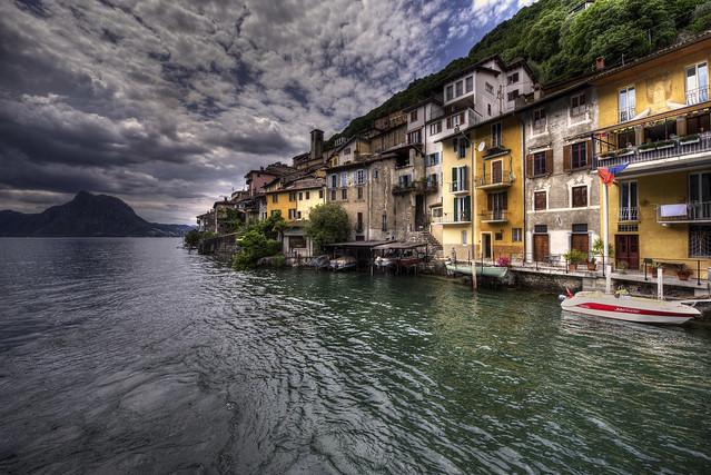 Small village Gandria - Lago di Lugano - Switzerland