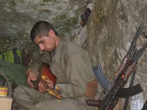 Kurdish PKK Guerilla | by Kurdishstruggle