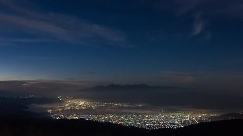 mtfuji morning morningglow fujisan nagano takabocchi seaofclouds timelapse lake suwako sunrise 富士山 朝焼け 長野 高ボッチ 雲海 タイムラプス 諏訪湖