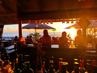 Sunset At The each Bar