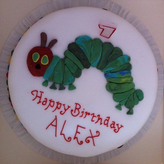 Alex's first birthday cake | by Wendy76woo