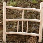 Rustic Chestnut Cottage Gate