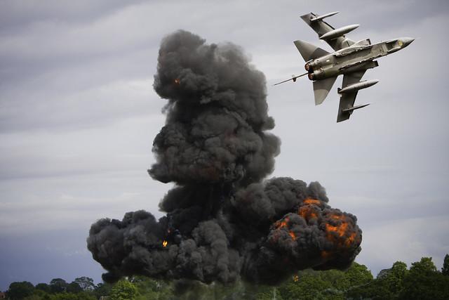 Tornado Bomb Cosford Air Show 2012