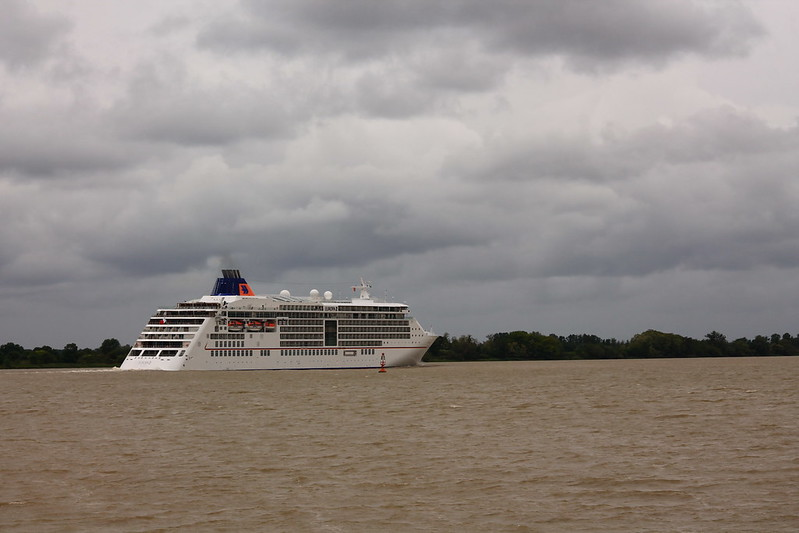Appareillage du MS EUROPA 2 - Bordeaux - 20 mai 2013