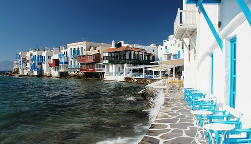 Little Venice, Mykonos | by travelinsteve