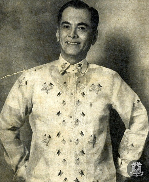 President Manuel L. Quezon after his inauguration