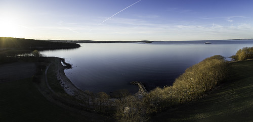 panorama norway landscape moss østfold jeløy multirotor multicopter