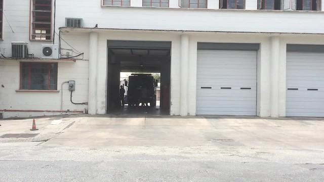Bridgetown (Barbados Fire Service) responding to a call