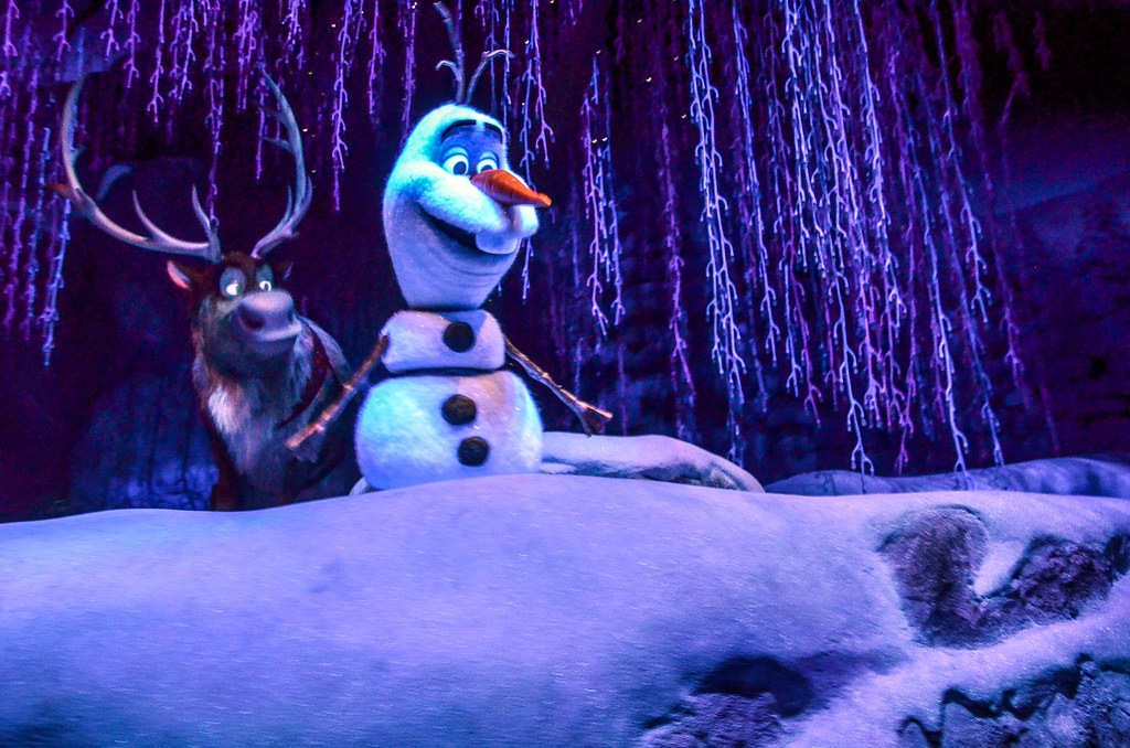 Olaf Sven Frozen Ever After