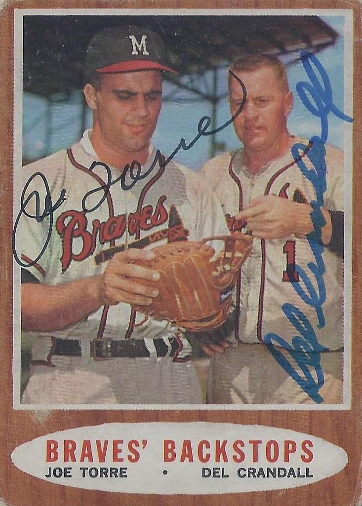 1962 Topps Braves Backstops 351 Joe Torre Hall Of F Flickr