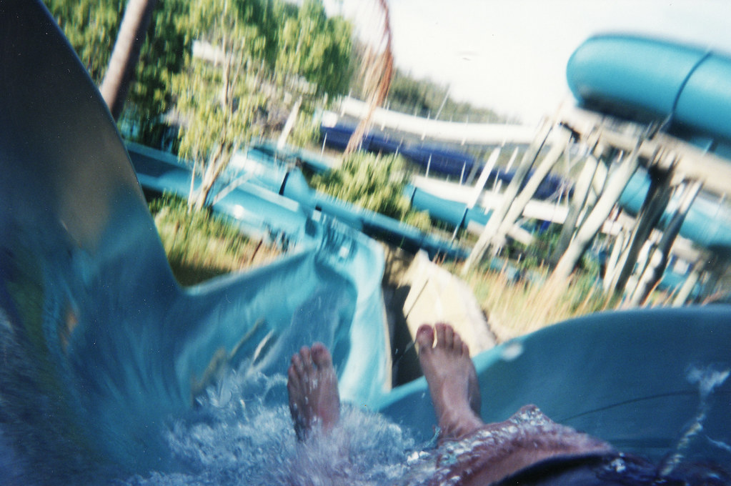 Wet'n'Wild water park, Gold Coast | This may be the watersli