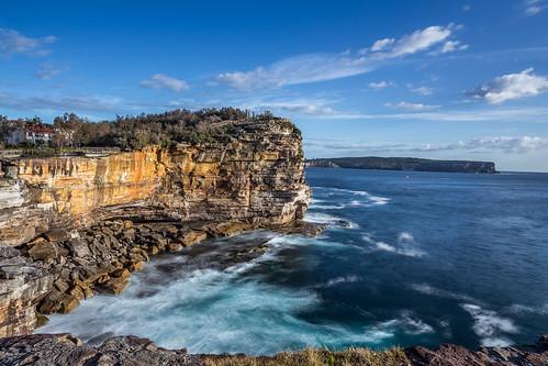 australia sydney coast cliffs ocean sea bobkirschke tasmansea watsonsbay big stopper long exposure longexposure