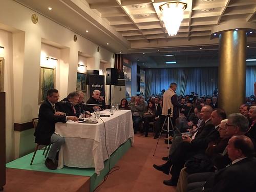 14.11.2016, Σπάρτη: «Ποιο μέλλον για την Ελλάδα; Μπορεί να αποφευχθεί το τέταρτο μνημόνιο;»