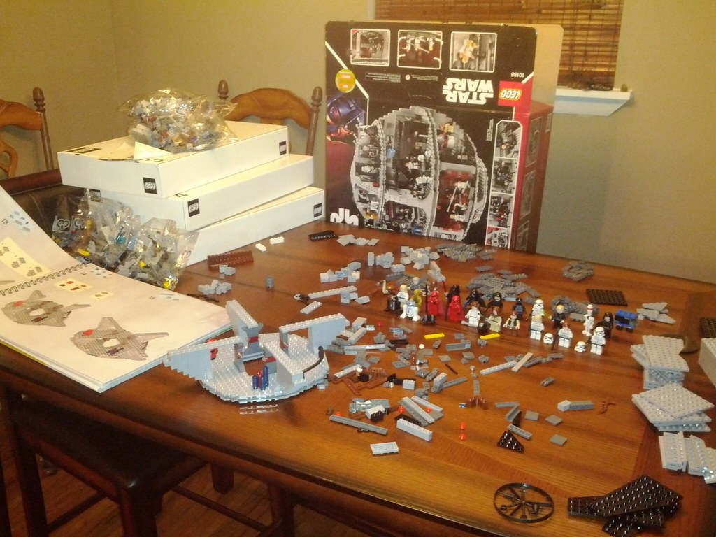 And so the construction of the Death Star begins. | Daniel ...