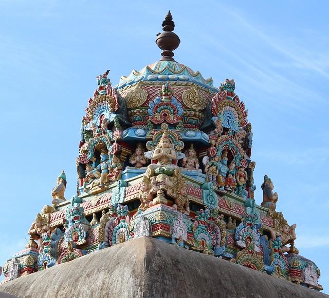 Vimanam of Perumal shrine