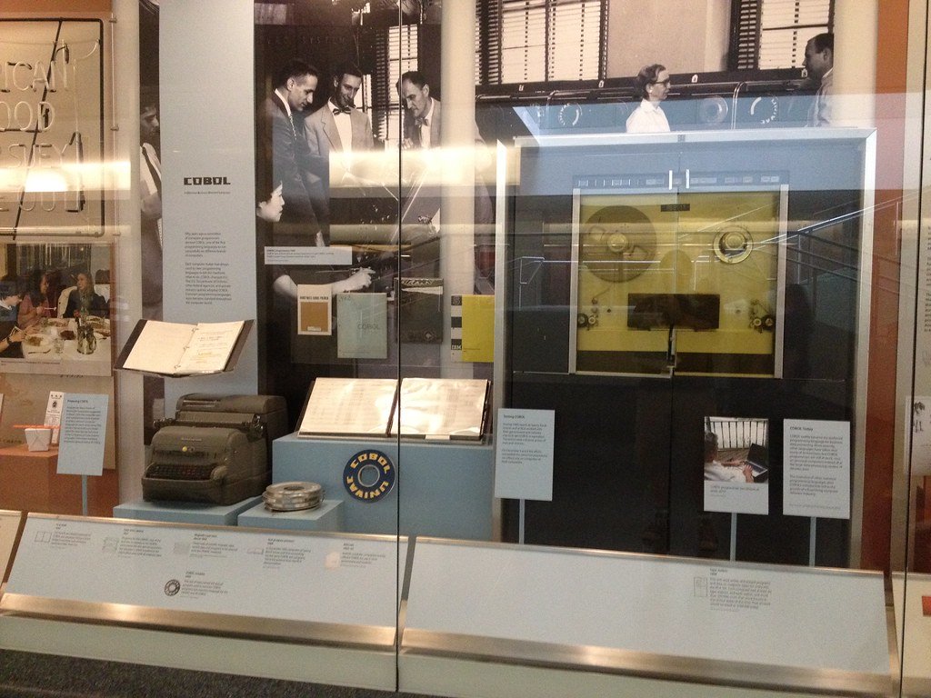 Cobol display at the Museum of American History in DC | Flickr