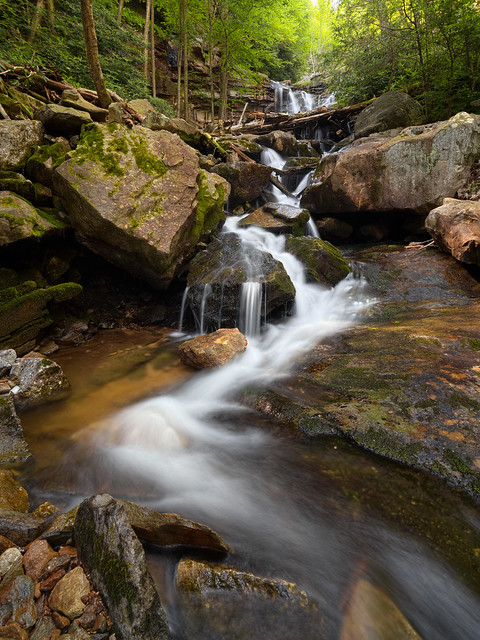 Below Glen Onoko Falls