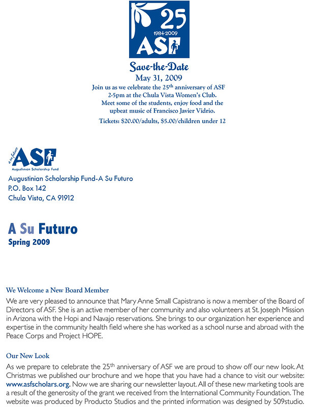 ASF Newsletter 2009 B