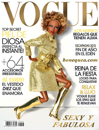 Vogue magazine: Golden cover girl | by Sandra (Bonequea)