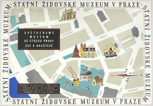 Poster [76.189], Josef Hesoun, Státní Židovské Muzeum v Praze (State Jewish Museum in Prague) (Prague, Czech Republic, 1963)