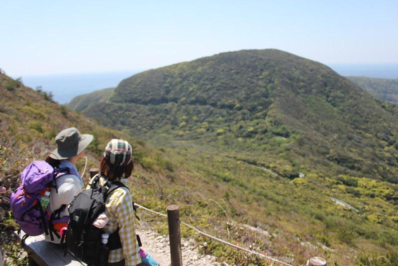 神津島 天上山 3合目