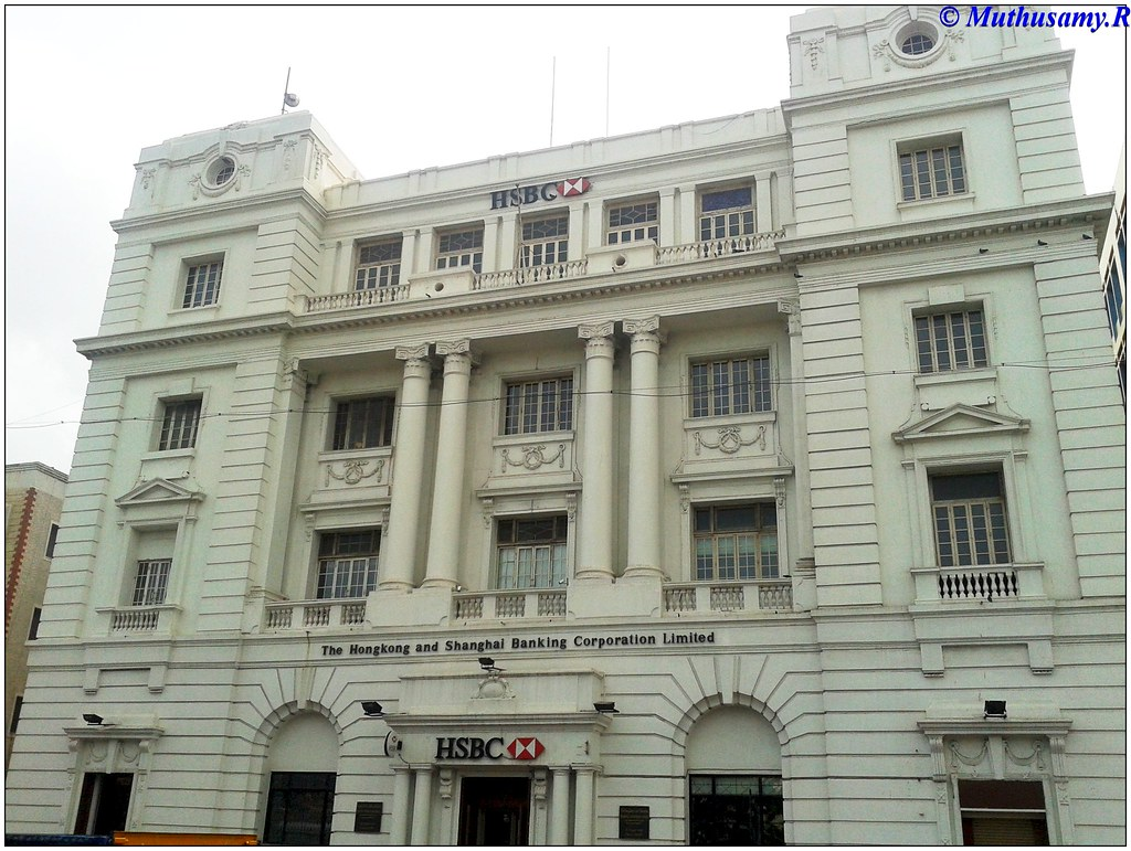 Mercantile Bank of India, (HSBC) 16 ,Firstline Beach, Madr