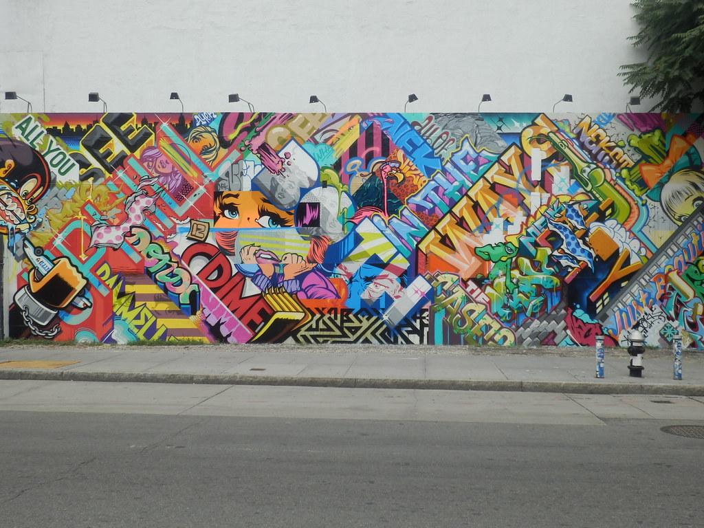 Pose, Revok, Trav & Omens...Houston & Bowrey, Manhattan...