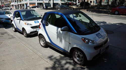 Car2Go in Pioneer Square