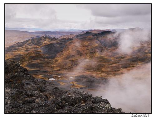 voyage montagne ciel nuage paysage randonnee