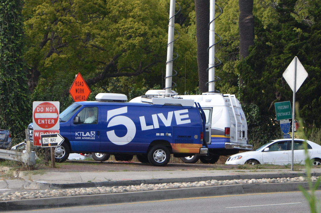 KTLA 5 LIVE LOS ANGELES NEWS VAN | Navymailman | Flickr