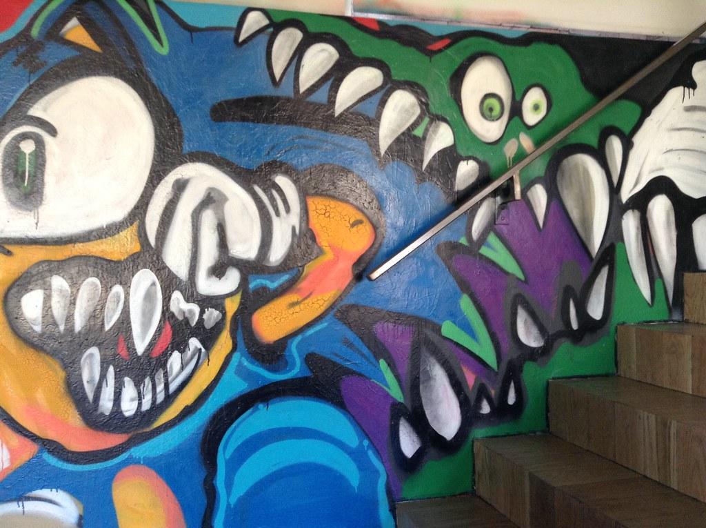 Chris Brown House Graffiti Street Art, California | Chris Br