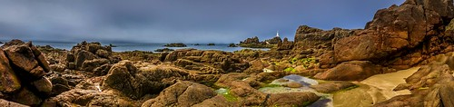 sea lighthouse beach rocks ngc