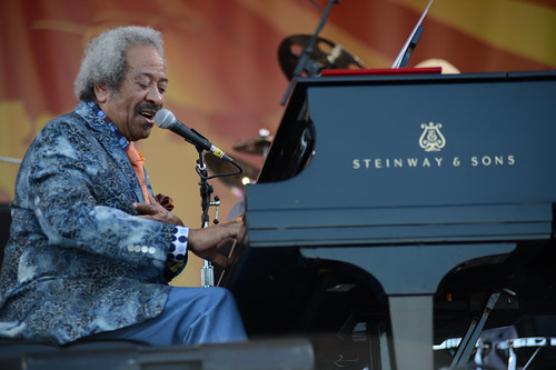 Allen Toussaint. Photo by Leon Morris.