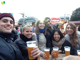 Beers at Oktoberfest | by ULearn English Language School