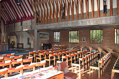chancel from south-east (George Pace, 1968)