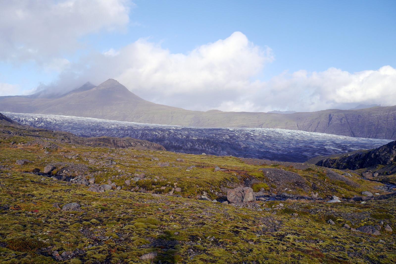 Glacier in the Sun