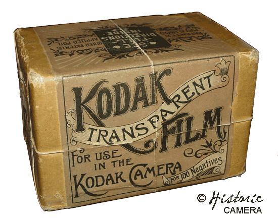 Kodak Transparent Film (1888) | Kodak introduced his first r