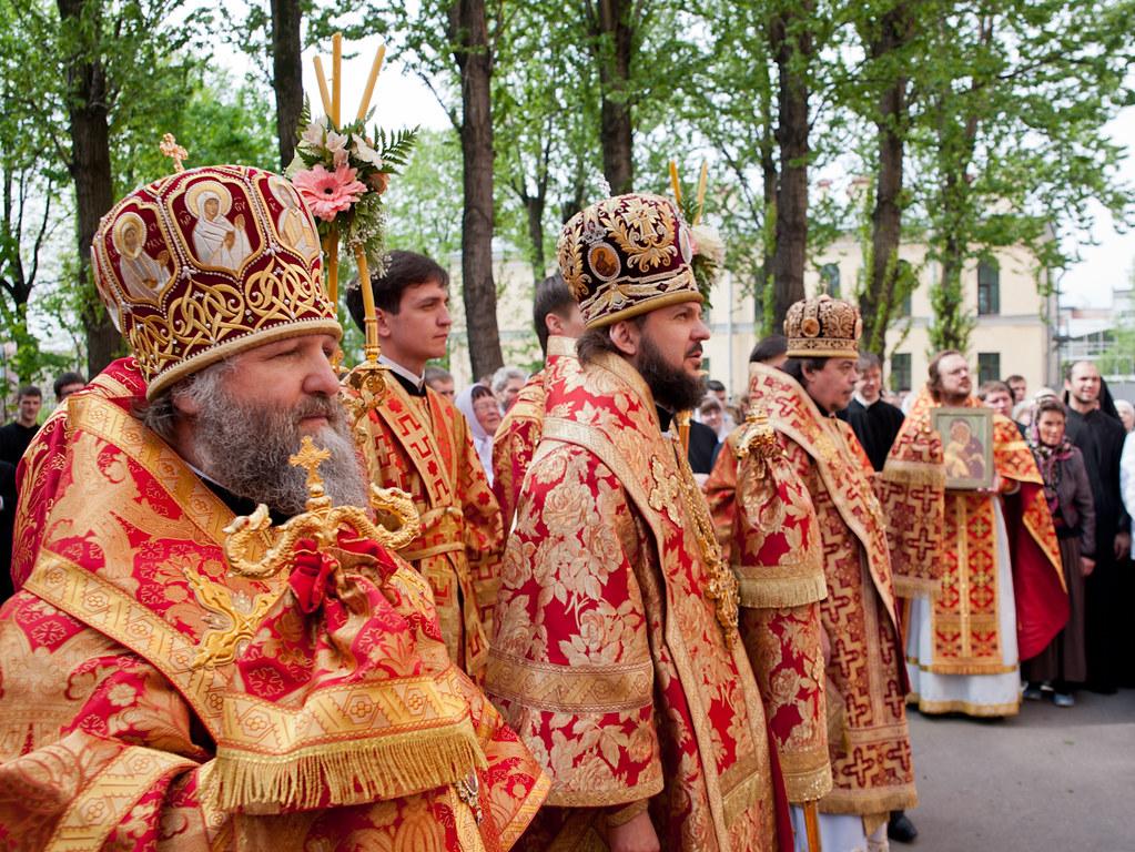 21 мая 2012, Литургия в день памяти апостола и евангелиста Иоанна Богослова