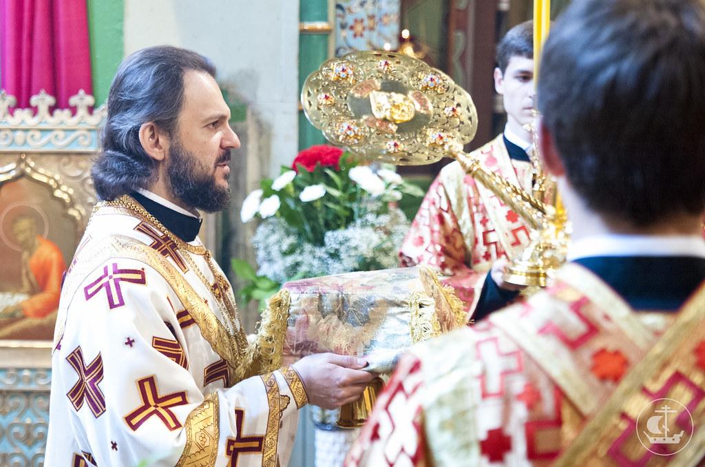 19 мая 2013, Литургия в 3-ю Неделю по Пасхе, Петергоф