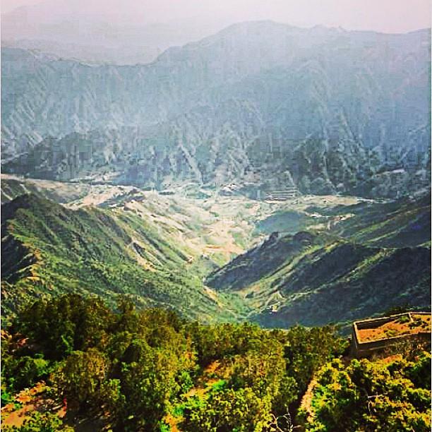 هذه الصوره في اعلى قمه من سلسلة جبال السروات وهي تسمى بمنت Flickr